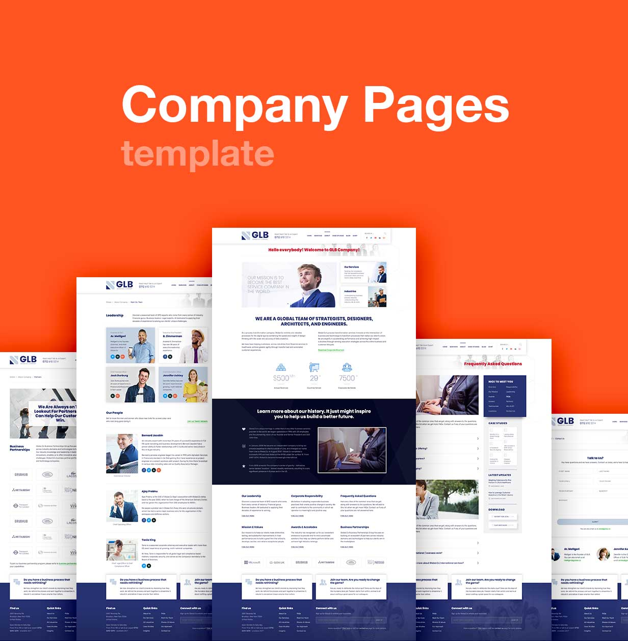 Glb - Responsive Multi-purpose WordPress Theme - 6