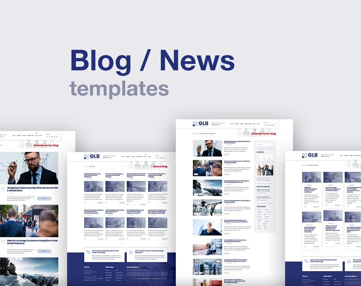 Glb - Responsive Multi-purpose WordPress Theme - 8