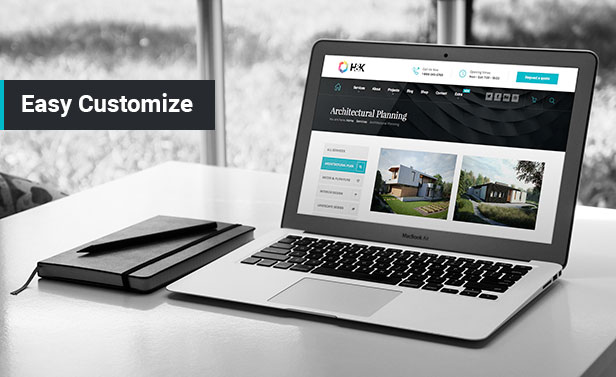 Hnk - Architecture Business WordPress Theme - 2