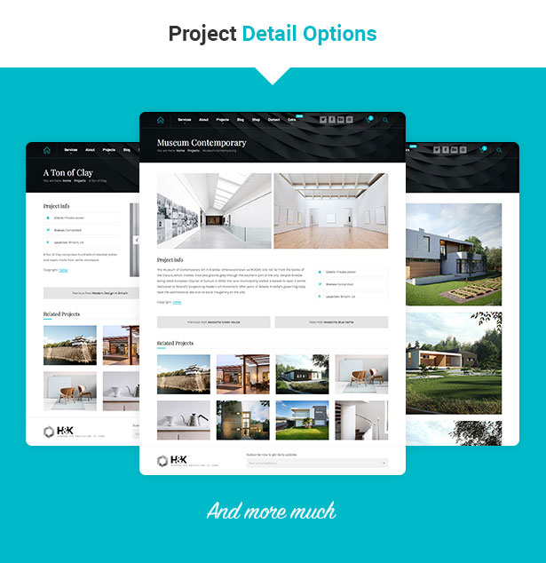 Hnk - Architecture Business WordPress Theme - 4