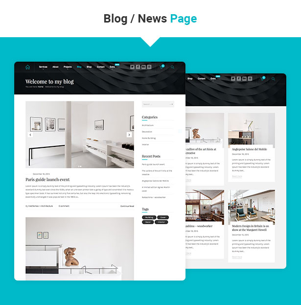 Hnk - Architecture Business WordPress Theme - 5